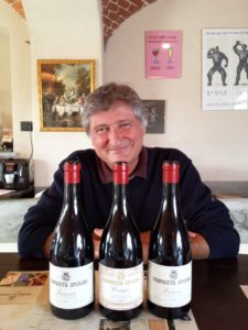 © Kerin O'Keefe | Paolo De Marchi with some of his Proprietà Sperino bottles