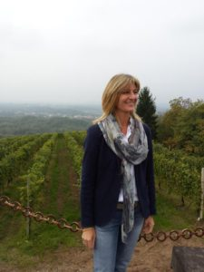 © Paolo Tenti | Cinzia Travaglini in one of her vineyards in Gattinara
